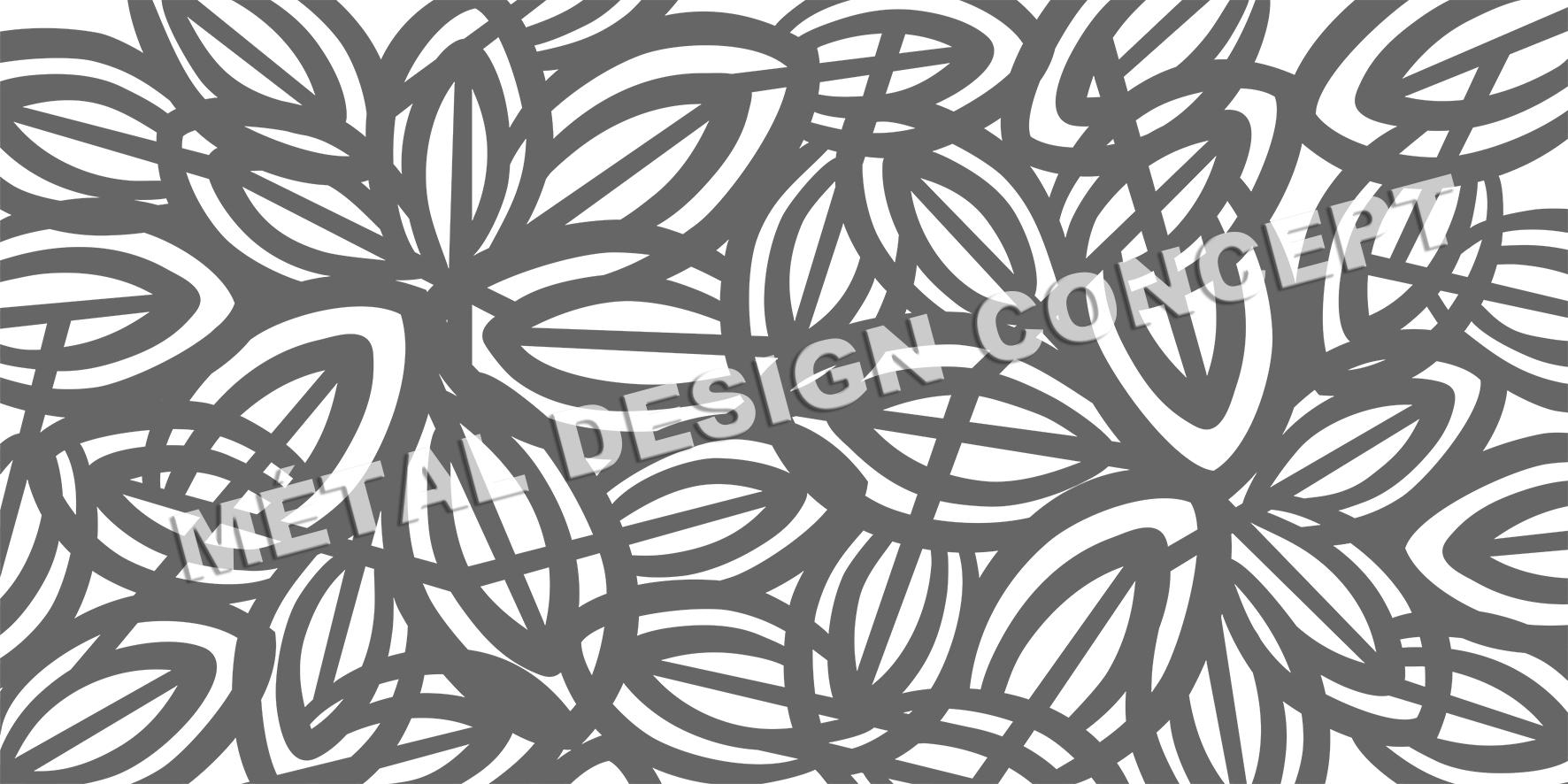motif tole perforée décorative
